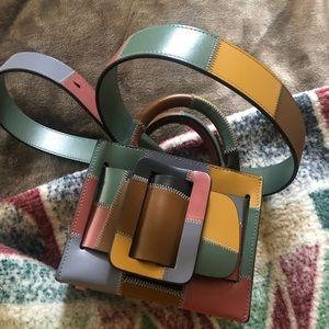 Boyy Boutique color blocked mini bag purse $795